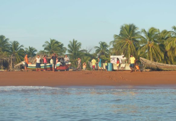 family-together-shell-beach-guyana