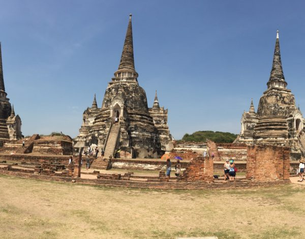 Exploring The Ruins Of Ayutthaya